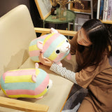 Rainbow Alpaca Tsum Tsum Cushion Plush