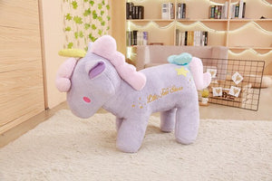 Sanrio Little Twin Stars Unicorn Plush Pink, Purple, Yellow, Green