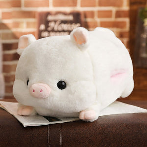 1pc 50cm Soft Kawaii Love Pig Plush Pillow Stuffed Cute Animal Cushion Hand Warmer Chinese Zodiac Pig Toy Doll Birthday Gift Kid