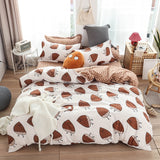 Bedsheets Set Cute Fruits and Vegetables All Sizes Bedding Bed Sheets