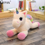 Huge Unicorn Plush, Pink, Purple, Blue, Yellow or White (up to 110cm)