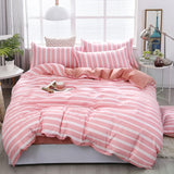 Pink Strawberry Bedding Set, Bunnies, Chicks, Sailor Moon, Flowers