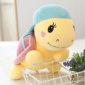 Turtle Tortoise With Cap Hat Big Plush (up to 60cm)
