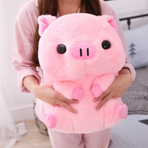 Pink Piggy Plush Pig 40cm Or Pink Pig Plush House Slippers 26cm