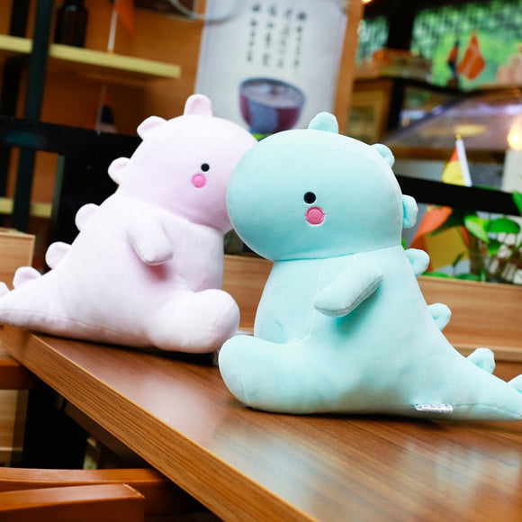 Green or Pink Dinosaur Plush Couples (up tp 50cm)