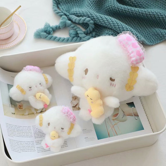 Cartoon Japan Anime Cogimyun Stuffed Plush Toys Soft White Plush Dolls Pendant Girls Gifts