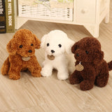 18cm Puppy Toy Poodle Curly Plush Teddy Dog