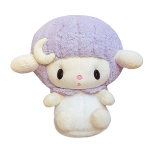 Sheep Ram Big Head Plush Sleepy Fluffy Goodnight Nighttime