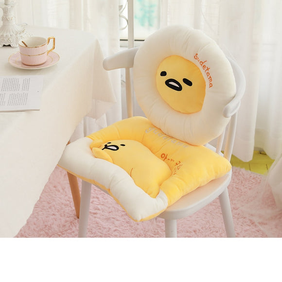 Lazy Egg Gudetama Plush Cushion Chair Cover