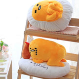 Fried Lazy Egg Plush with Fried Chicken