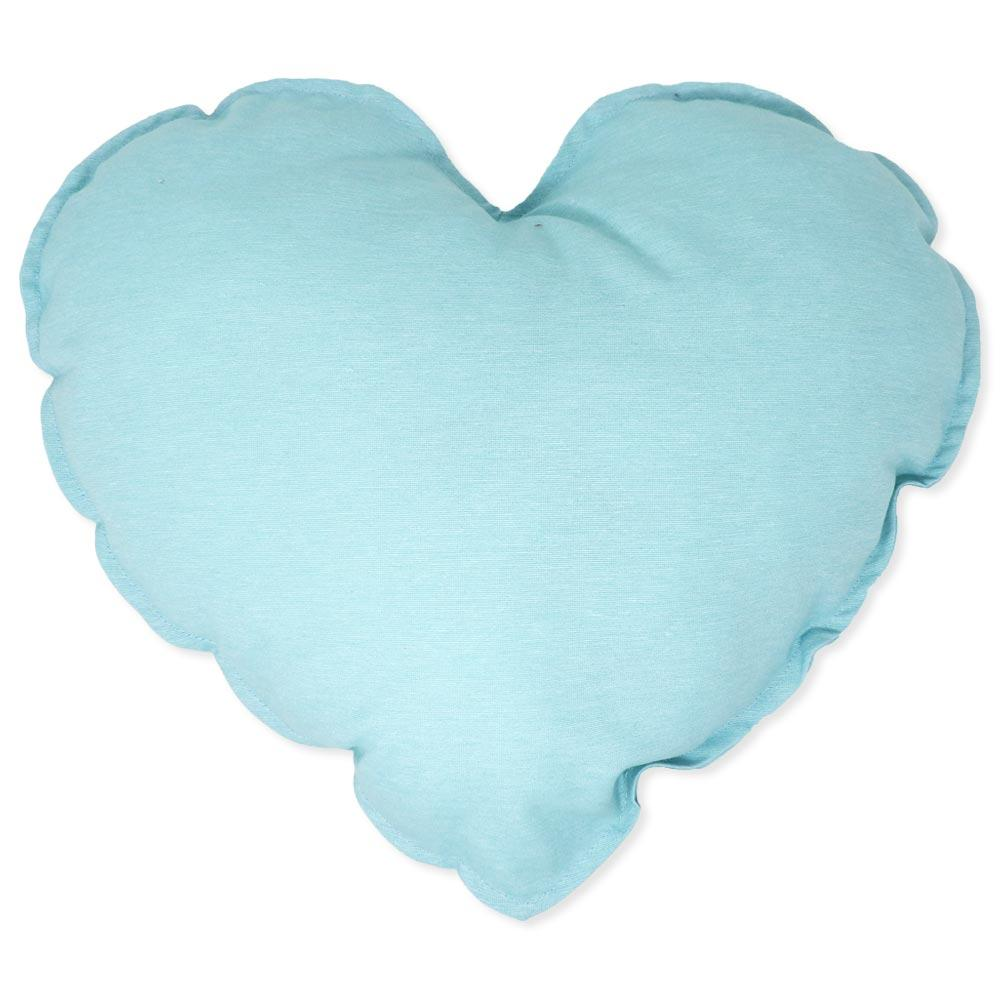 Cuscino Heart Light Blue