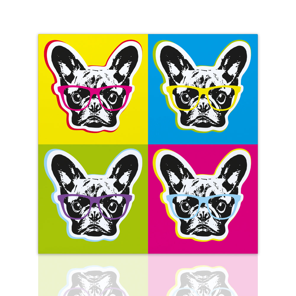 Bouledogue Pop Art (5891313467541)