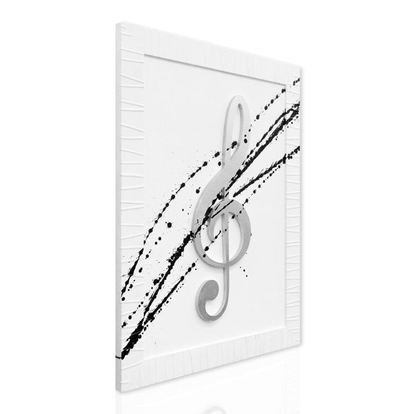 Music Note in Frame
