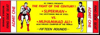 ALI-SUPERMAN ORIGINAL FULL TICKET (1978)