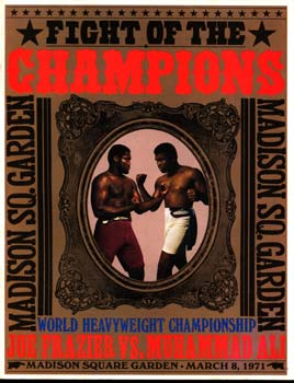 ALI, MUHAMMAD-JOE FRAZIER I SOUVENIR PROGRAM (1971)