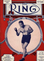 RING MAGAZINE AUGUST 1928