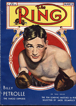 RING MAGAZINE MARCH 1931