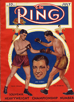 RING MAGAZINE JULY 1931
