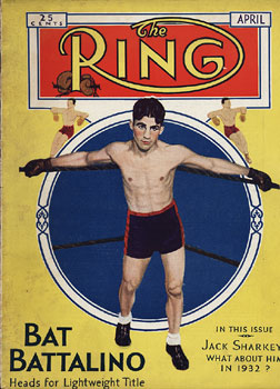 RING MAGAZINE APRIL 1932