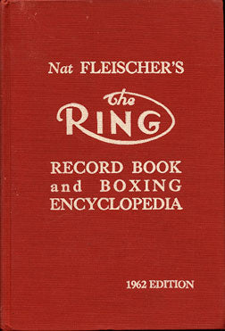 RING RECORD BOOK (1962 EDITION)