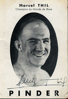 THIL, MARCEL SIGNED PHOTO