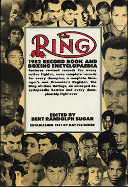 RING RECORD BOOK-1982 EDITION