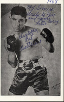 "BATTALINO, CHRISTOPHER ""BAT"" SIGNED PHOTO"