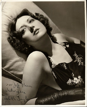 TAYLOR, ESTELLE VINTAGE SIGNED PHOTO (JACK DEMPSEY'S WIFE)