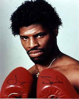 SPINKS, LEON SIGNED PHOTO