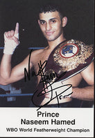 HAMED, PRINCE NASEEM SIGNED PHOTO