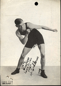CROSS, LEACH SIGNED PHOTO