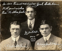 O'BRIEN, PHILADELPHIA JACK & YOUNG JACK O'BRIEN & JACK MCCARRON SIGNED PHOTO