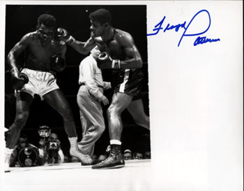 PATTERSON, FLOYD SIGNED WIRE PHOTO