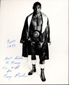 MUNDINE, TONY SIGNED PHOTO