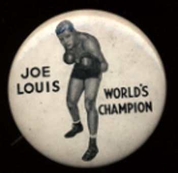 LOUIS, JOE VINTAGE PIN