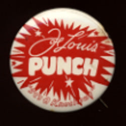 LOUIS, JOE VINTAGE PUNCH PIN