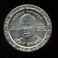 FOREMAN, GEORGE COMMEMORATIVE GAMING COIN (1995)