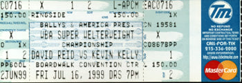 KELLEY, KEVIN-DAVID REID FULL TICKET (1999)