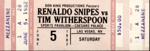 WITHERSPOON, TIM-RENALDO SNIPES FULL TICKET (1982)