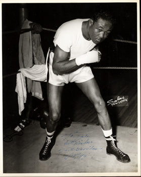 GAVILAN, KID VINTAGE SIGNED PHOTO