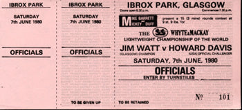 WATT, JIM-HOWARD DAVIS, JR. FULL TICKET (1980)