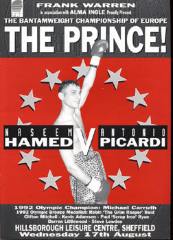 HAMED, PRINCE NASEEM-ANTONIO PICARDI OFFICIAL PROGRAM (1994)