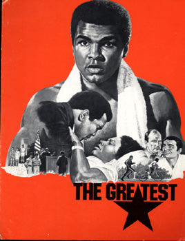 "ALI, MUHAMMAD MOVIE ""THE GREATEST"" PRESS PROGRAM"