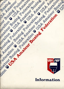 1984 OLYMPIC BOXING TRIALS OFFICIAL PROGRAM (HOLYFIELD, TYSON)