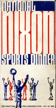 NATIONAL NIXON SPORTS DINNER PROGRAM (1968-MARCIANO, ZALE, GRAZIANO)