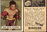 HAIRSTON, EUGENE ORIGINAL RINGSIDE CARD (1951-#37)
