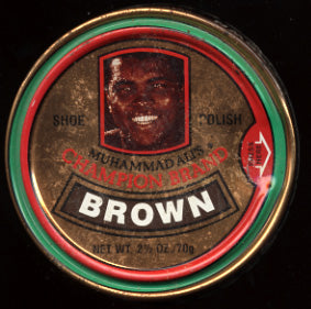 ALI, MUHAMMAD SHOE POLISH
