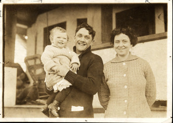 KILBANE, JOHNNY & FAMILY ANTIQUE PHOTO
