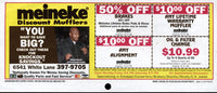 FOREMAN, GEORGE MEINEKE COUPON