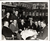 DEMPSEY, JACK ANTIQUE PHOTO (AT RESTAURANT)